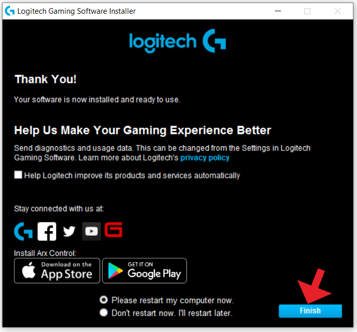 logitech gaming software 4